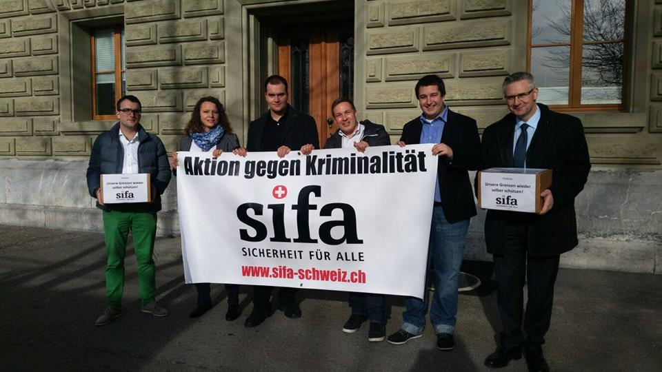Petition «Unsere Grenzen wieder selber schützen!»