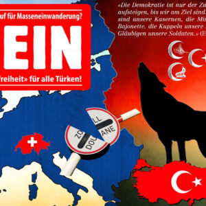 Petition «Nein zur Visafreiheit für alle Türken!»