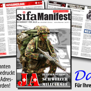 Manifest «Ja zu einer starken Schweizer Milizarmee»