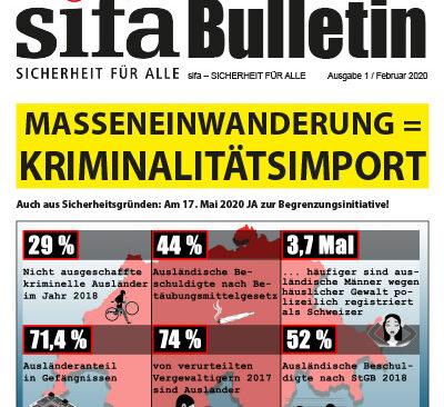 sifa-Bulletin, Ausgabe 1-2020