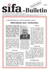 sifa-Bulletin, Ausgabe 1-2007