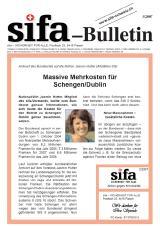 sifa-Bulletin, Ausgabe 3-2007