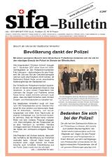 sifa-Bulletin, Ausgabe 4-2007
