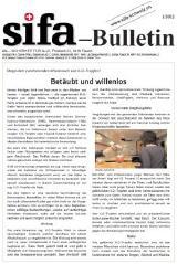 sifa-Bulletin, Ausgabe 1-2012