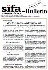 sifa-Bulletin, Ausgabe 2-2012
