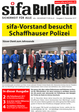 sifa-Bulletin, Ausgabe 3-2017