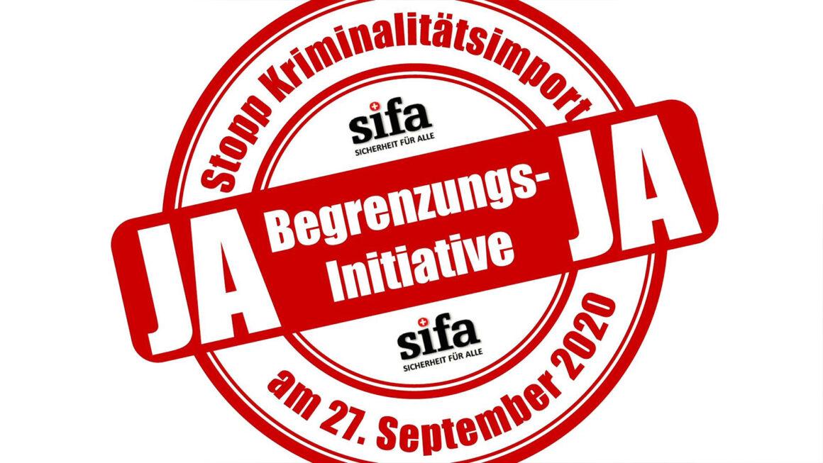 sifa-Kampagne «Masseneinwanderung = Kriminalitätsimport»